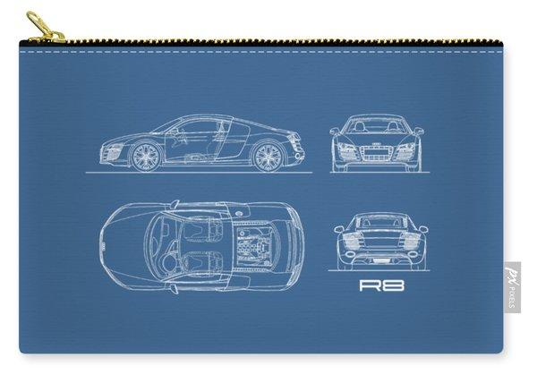 Audi R8 Blueprint Carry-all Pouch