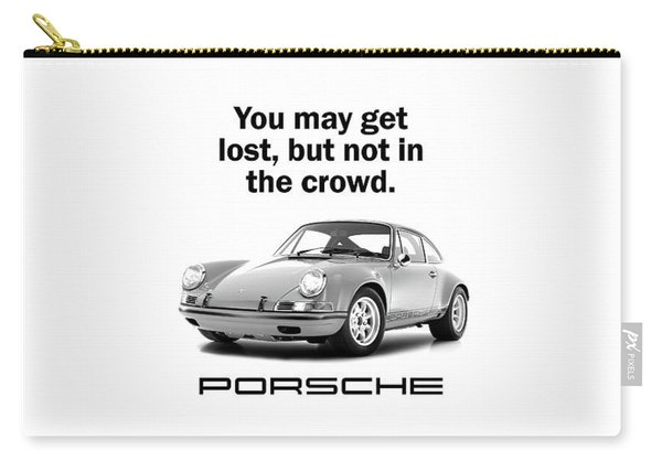 Lost In A Porsche Carry-all Pouch