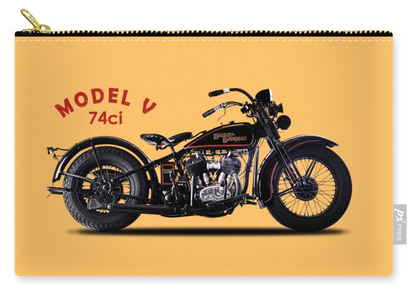 Harley-davidson Model V 1930 Carry-all Pouch