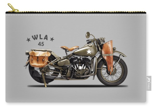 Harley-davidson Wla 1942 Carry-all Pouch