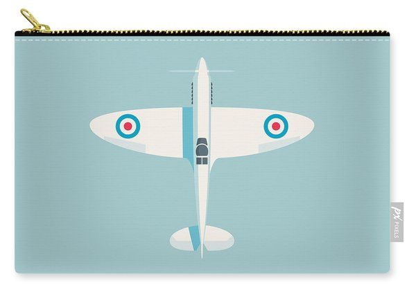 Supermarine Spitfire Fighter Plane - Sky Carry-all Pouch