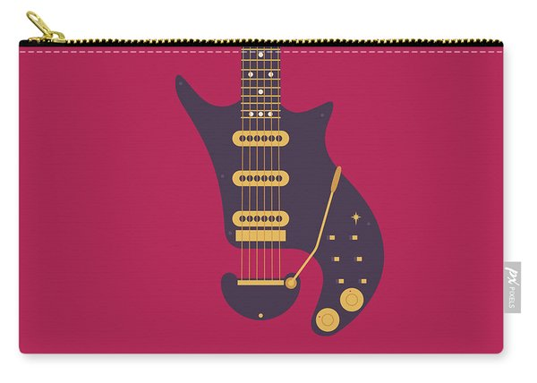 Red Special Guitar - Burgundy Carry-all Pouch