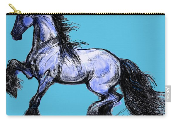 Friesian Mare Carry-all Pouch