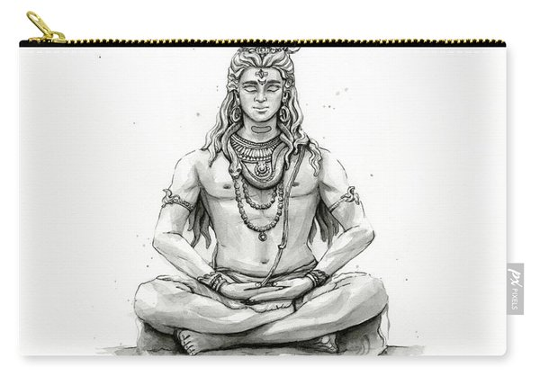 Shiva Portrait Carry-all Pouch