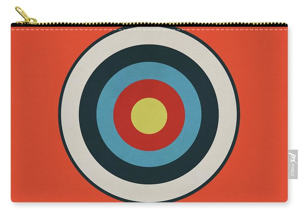 Vintage Target - Orange Carry-all Pouch