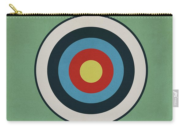 Vintage Target Carry-all Pouch