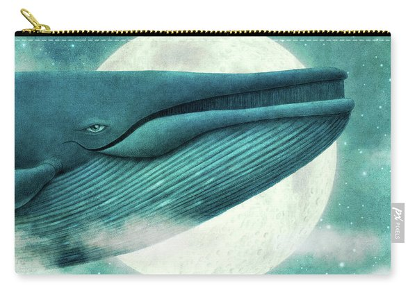 The Great Whale Carry-all Pouch
