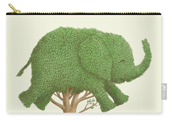 The Elephant Tree Carry-all Pouch