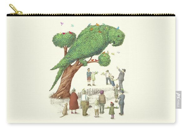 The Parrot Tree Carry-all Pouch