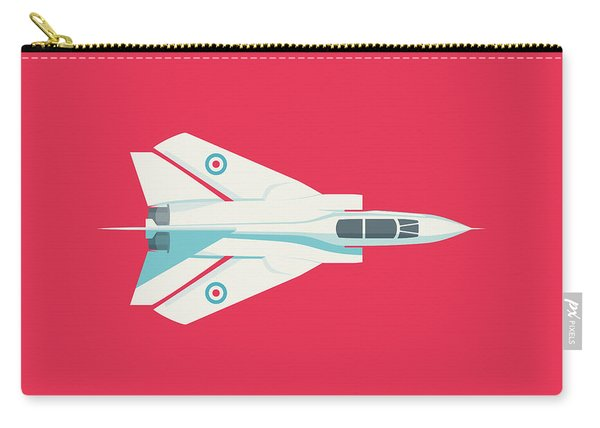 Tornado Swing Wing Jet - Crimson Carry-all Pouch