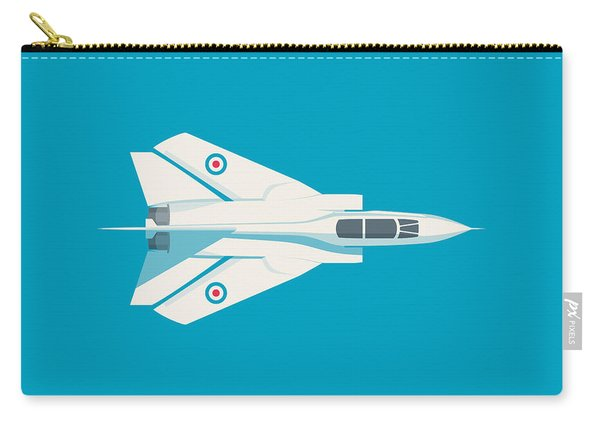 Tornado Swing Wing Jet - Cyan Carry-all Pouch