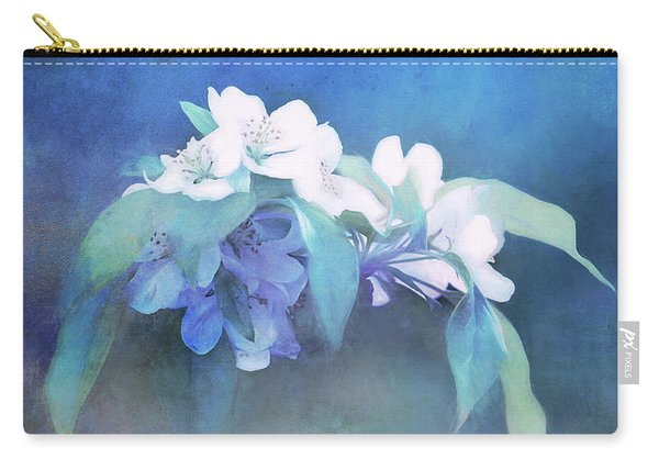 Painted Crabapple Blossoms Carry-all Pouch