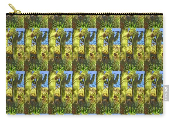 In The Shadow Of Saguaros Carry-all Pouch