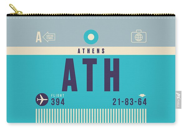 Retro Airline Luggage Tag - Yyz Toronto Canada Carry-all Pouch