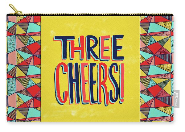 Three Cheers Carry-all Pouch