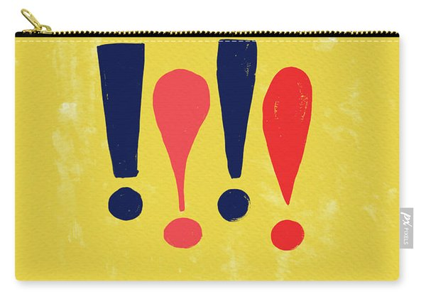 Exclamations Pop Art Carry-all Pouch