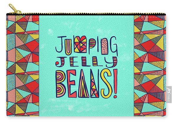 Jumping Jelly Beans Carry-all Pouch