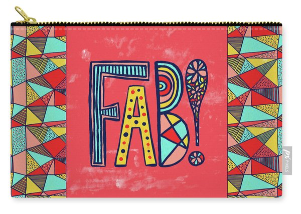 Fab Carry-all Pouch