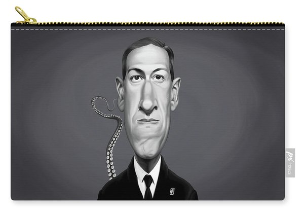 Celebrity Sunday - H.p Lovecraft Carry-all Pouch