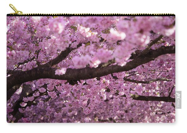 Cherry Blossom Tree Panorama Carry-all Pouch