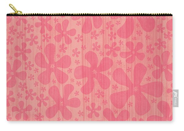 Tropical Floral Pattern Carry-all Pouch