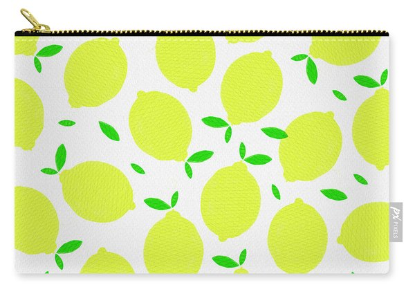 Sunny Lemon Pattern Carry-all Pouch