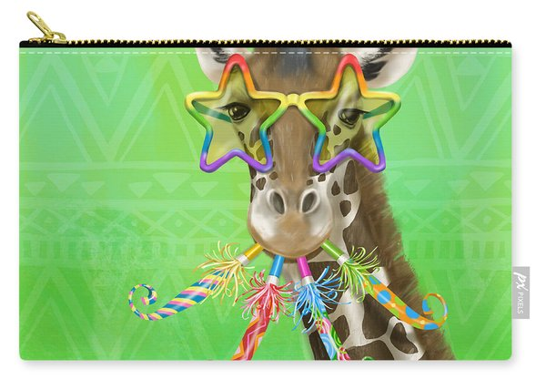 Party Safari Giraffe Carry-all Pouch