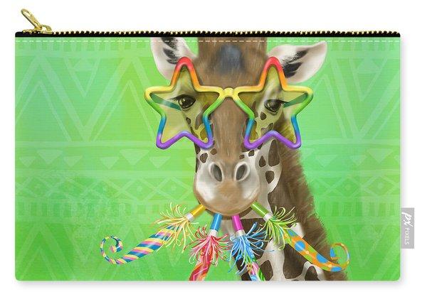 Party Safari Giraffe Carry-all Pouch