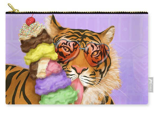 Party Safari Tiger Carry-all Pouch
