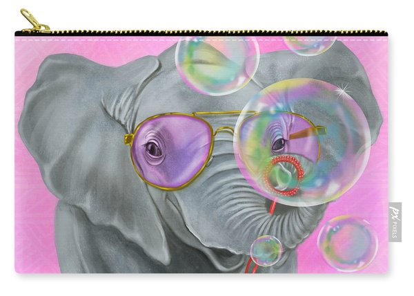 Party Safari Elephant Carry-all Pouch