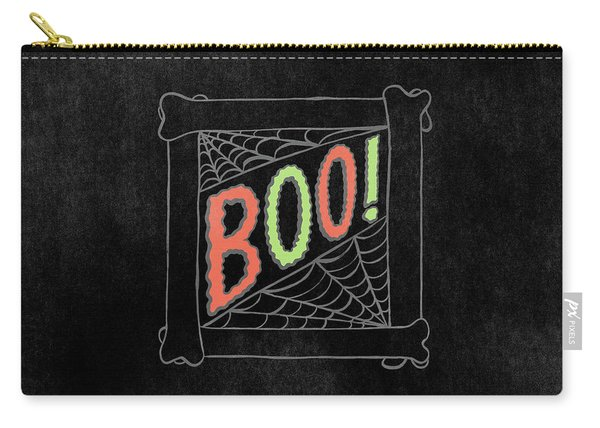 Boo Halloween Art Carry-all Pouch