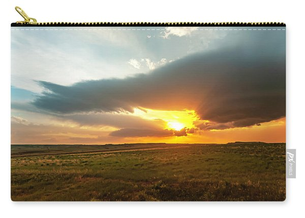 As The Sun Is Setting Carry-all Pouch