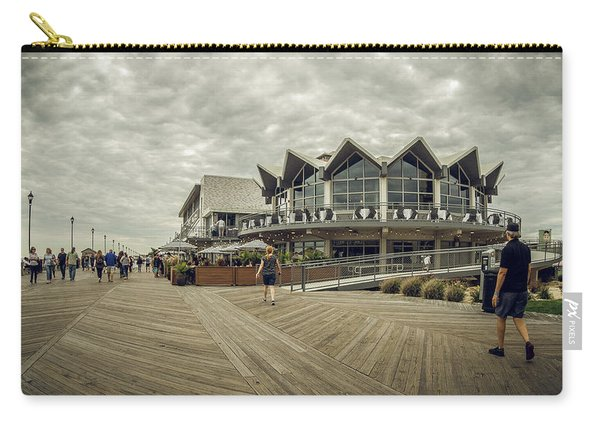 Asbury Park Boardwalk Looking South Carry-all Pouch
