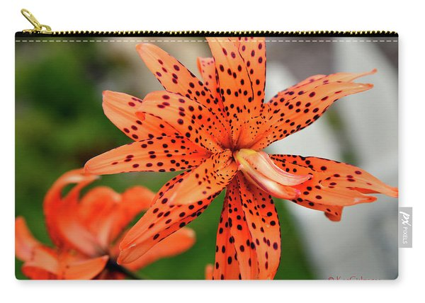 Asian Tiger Lily Carry-all Pouch