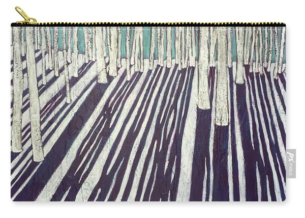 Aspen Shadow Silhouettes Carry-all Pouch