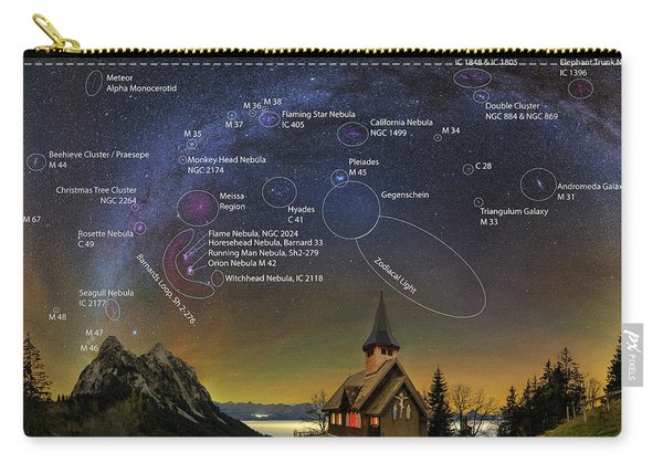 Astrophotography Winter Wonderland Carry-all Pouch