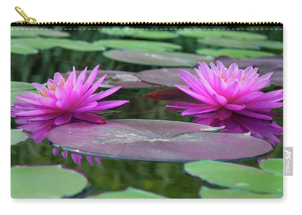 At Longwood Gardens - Water Lillies  Carry-all Pouch