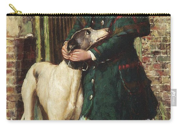 At The Garden Gate, 1887 Carry-all Pouch