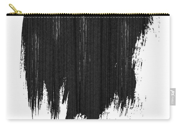 Atlanta Skyline Brush Stroke Black Carry-all Pouch