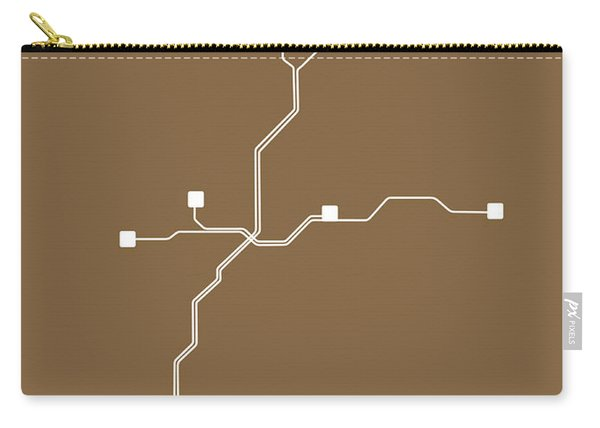 Atlanta Subway Map 2 Carry-all Pouch