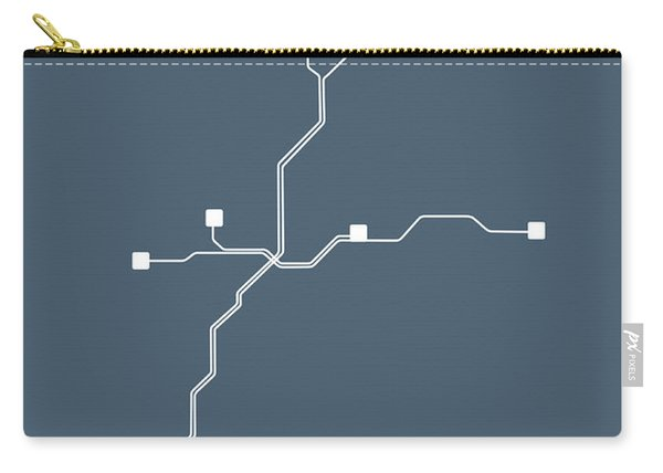 Atlanta Subway Map Carry-all Pouch