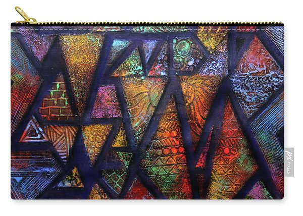 Attractive Mosaic  Carry-all Pouch
