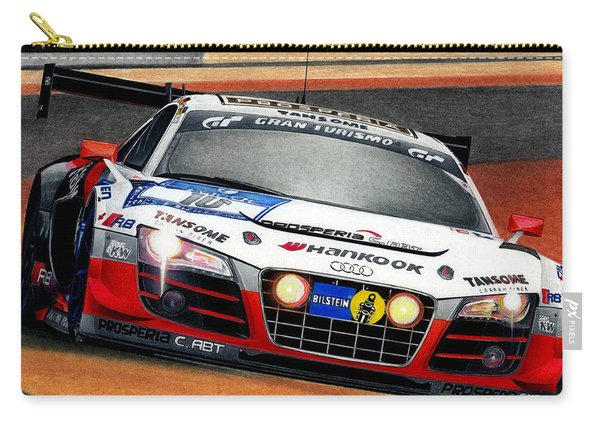 Audi R8 Gt3 Carry-all Pouch