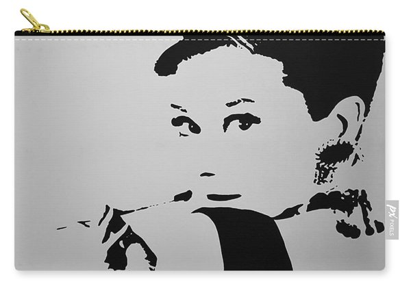 Audrey B W Carry-all Pouch