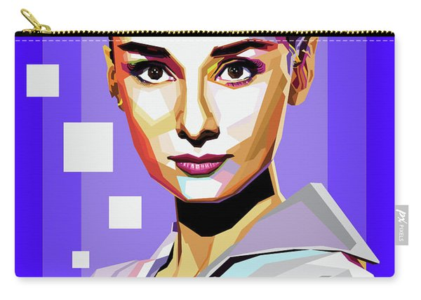 Audrey Hepburn Carry-all Pouch