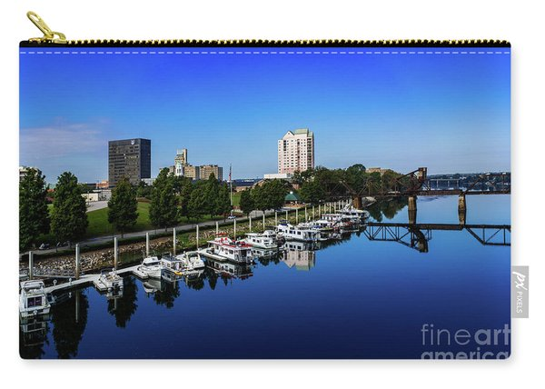 Augusta Ga Savannah River 2 Carry-all Pouch