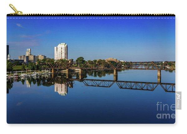 Augusta Ga Savannah River Panorama Carry-all Pouch