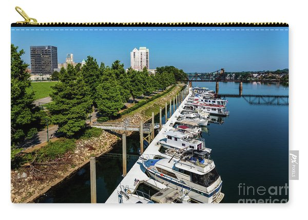 Augusta Ga - Savannah River Carry-all Pouch
