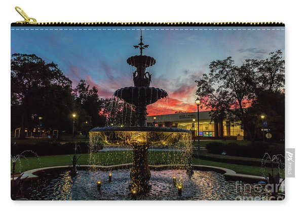 Augusta University Fountain Sunset Ga Carry-all Pouch