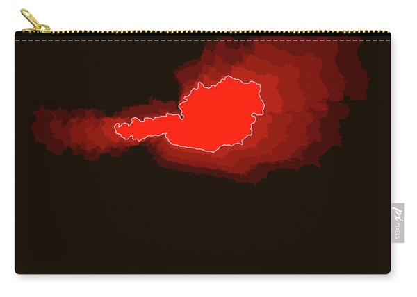 Austria Radiant Map I Carry-all Pouch